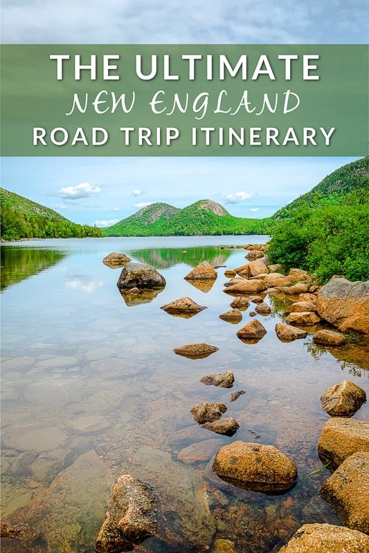The ultimate New England road trip itinerary Pinterest image