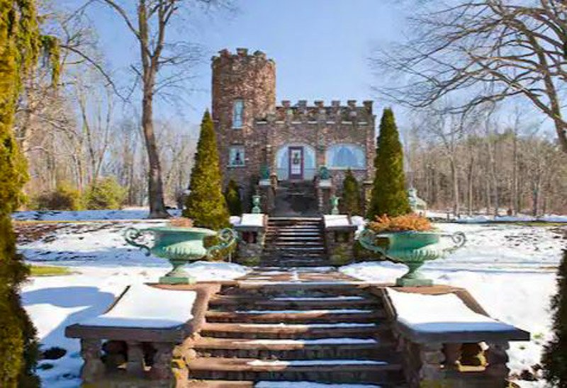 This medieval castle in Connecticut is one of the coolest Airbnbs in the US.