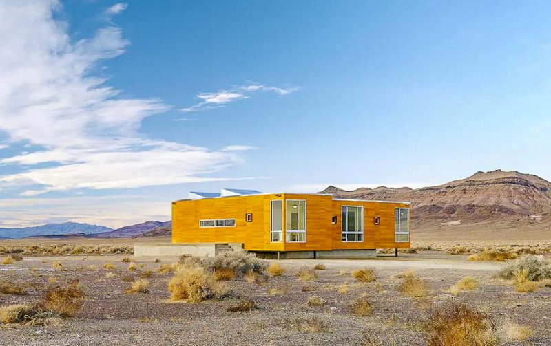 This secluded home in Nevada is one of the coolest vacation rentals in the US.