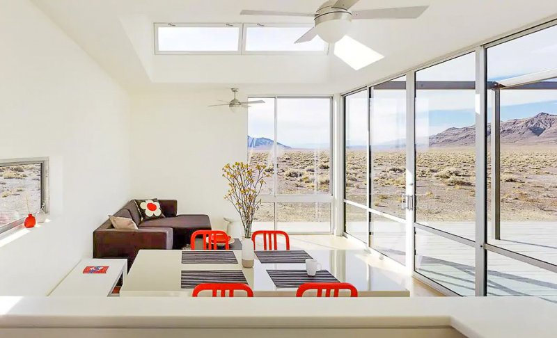This clean and secluded home in Nevada is one of the most beautiful Airbnbs in the US.