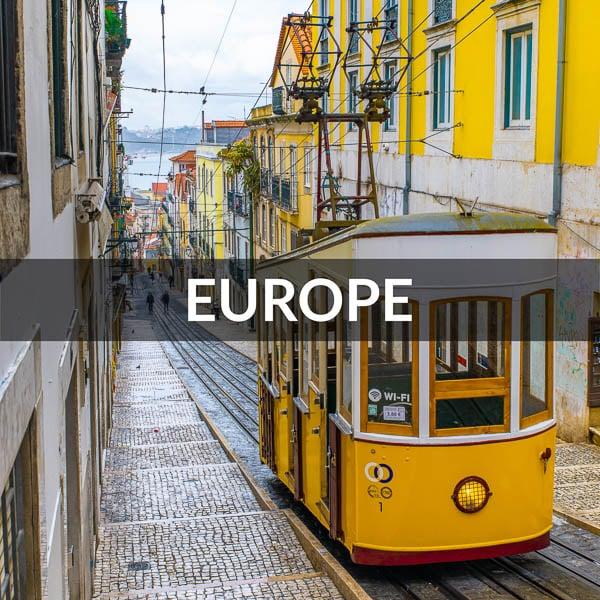 Europe destinations image