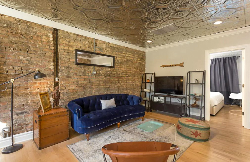 This stunning industrial loft is one of the best vacation rentals in America.