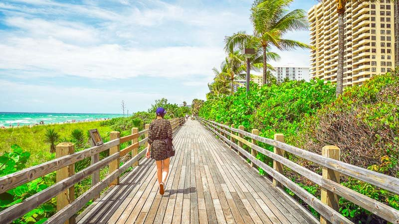 Miami is one of the most beautiful places to visit on the east coast.