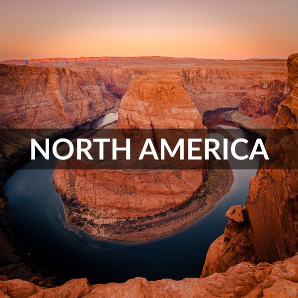 North America destinations image