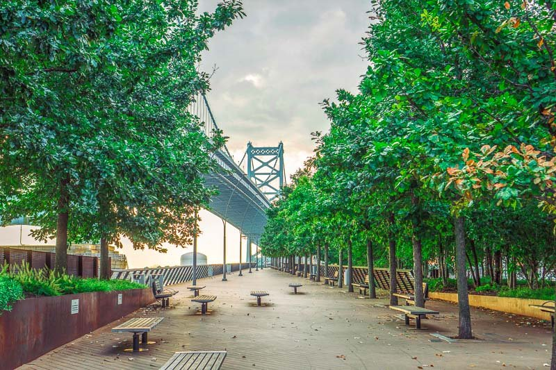 Philadelphia is a unique place to visit on the east coast