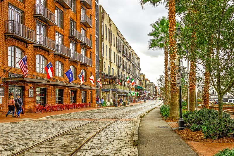 Savannah is incredibly picturesque