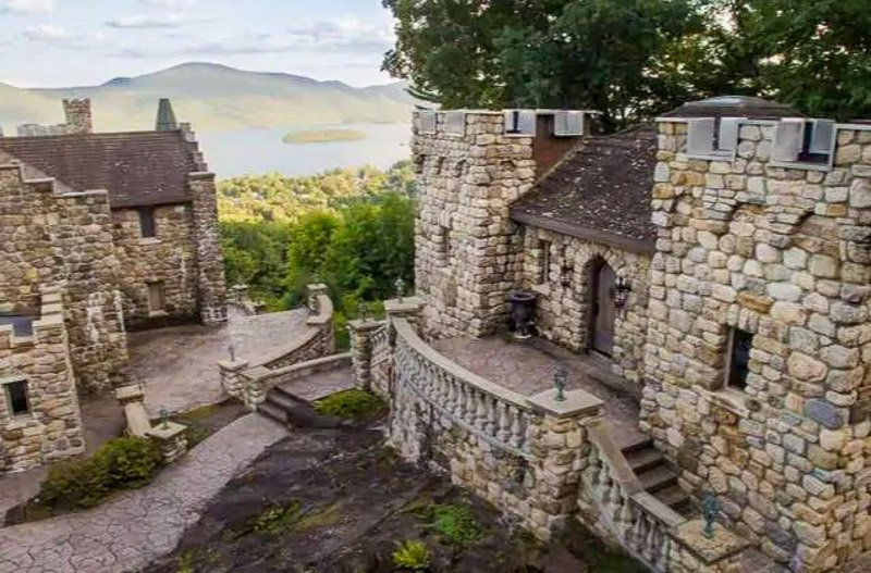 This New York castle on Lake George is one of the most popular vacation rentals.