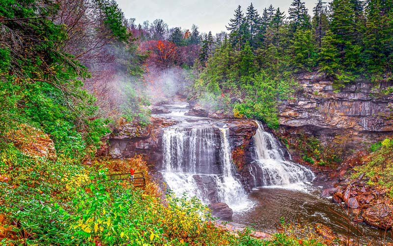 Blackwater Falls State Park is one of the many must see places on the east coast.