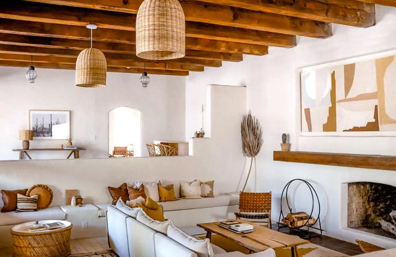 This cozy accommodation in Tucson, Arizona is one of the most beautiful vacation rentals in the USA.