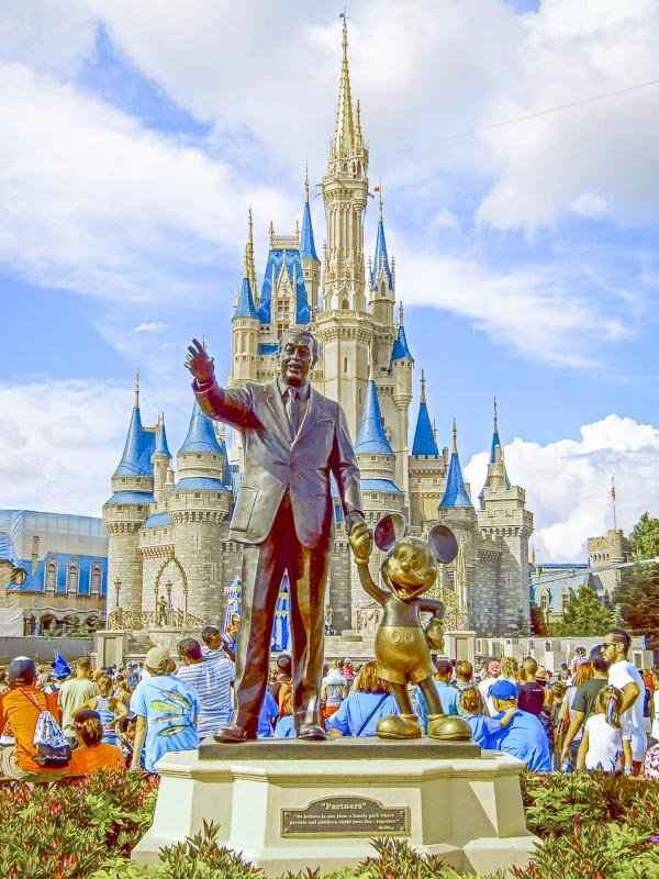 Disney is consistently one of the top east coast family vacation destinations