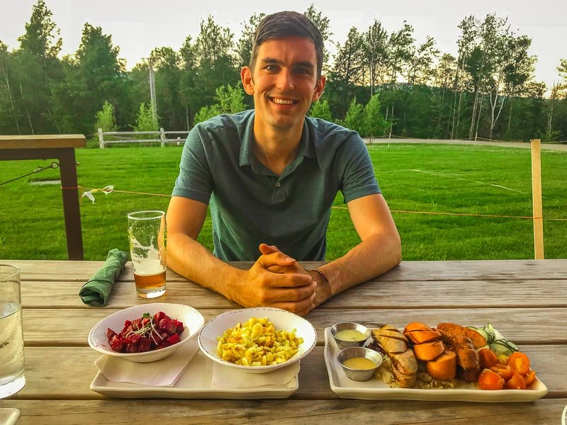 Stowe is known for its farm-to-table-dining. The food is amazing!