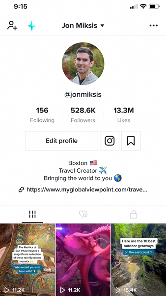 In 2020, TikTok is the key to success for how to become a travel blogger.