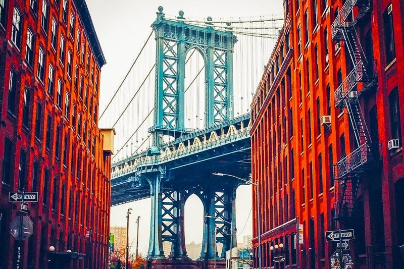 NYC George Washington Bridge.