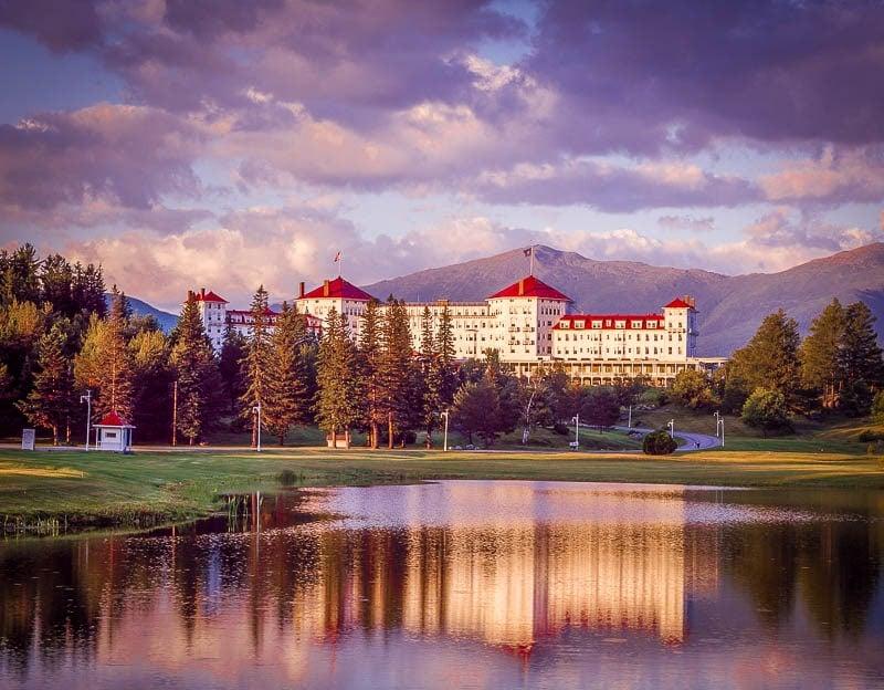 Omni Mount Washington Resort in Bretton Woods.
