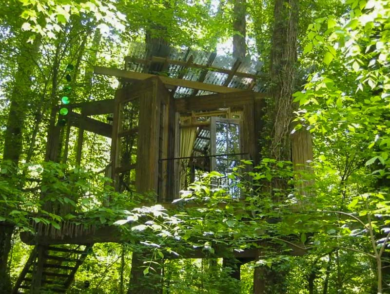 This secluded Atlanta treehouse in Georgia is one of the coolest Airbnbs in the US.