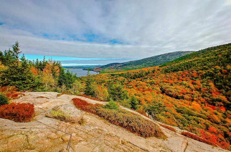 Acadia National Park, Maine in the fall.