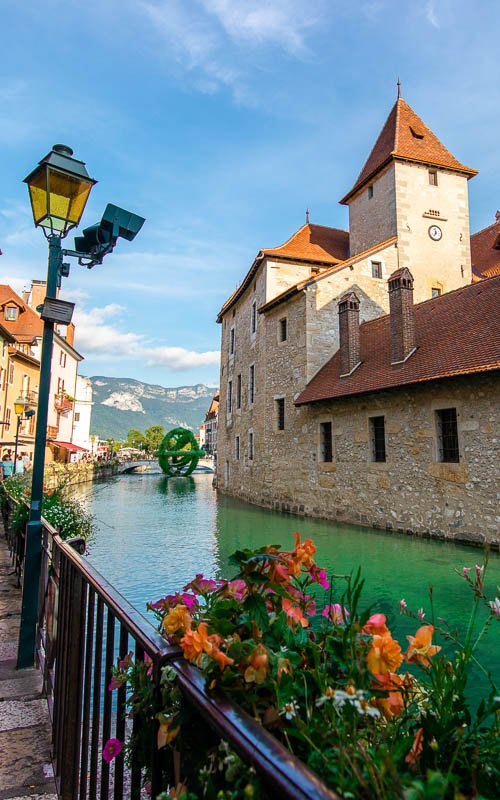 Annecy is one of the most beautiful cities in Europe.