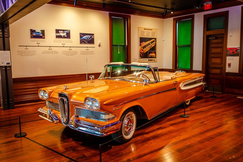 Audrain Auto Museum is a must-see attraction during a weekend in Newport.