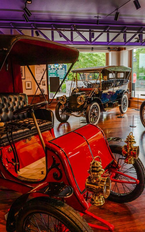 The Audrain Auto Museum gives visitors a glimpse of the world's rarest vehicles.