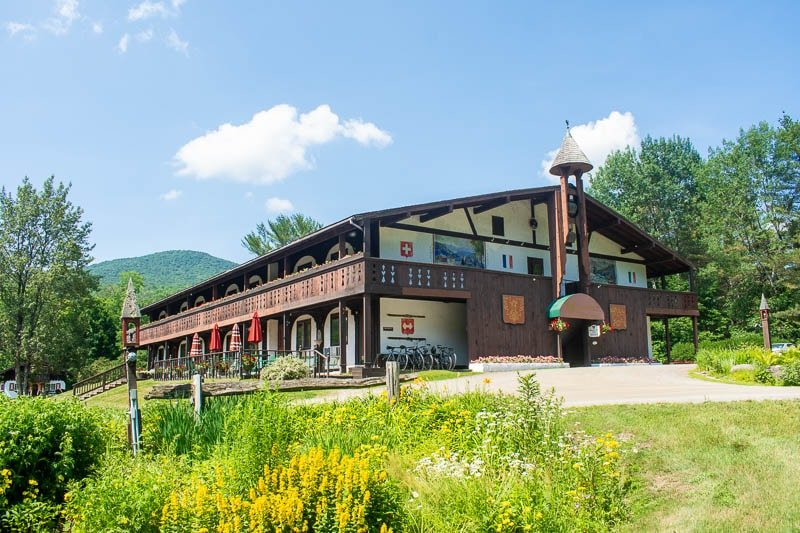 The Innsbruck Inn is one of several Austrian-style accommodations in Stowe, Vermont.