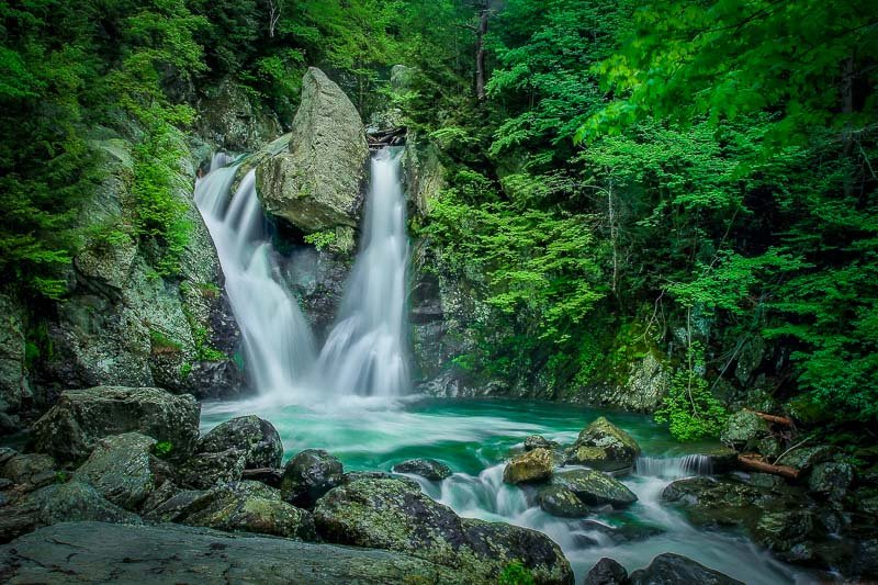 Bash Bish Falls is one of the best hidden gems in New England.