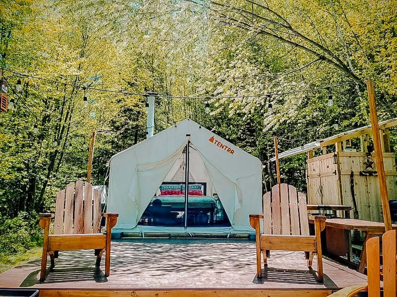 A glamping experience in the Berkshires like no other.