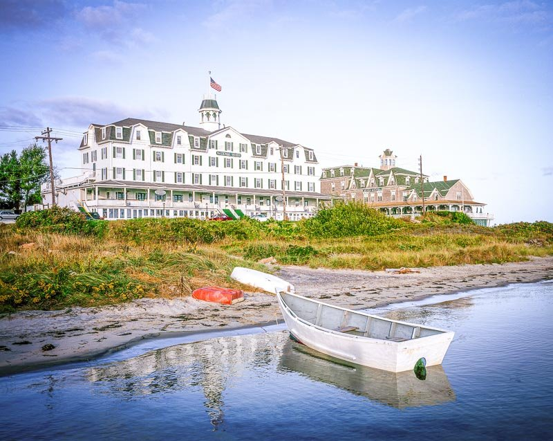 The National Hotel on Block Island.