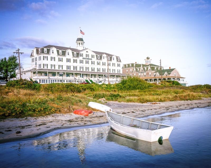 Block Island, Rhode Island is a relaxing place to visit during the fall.