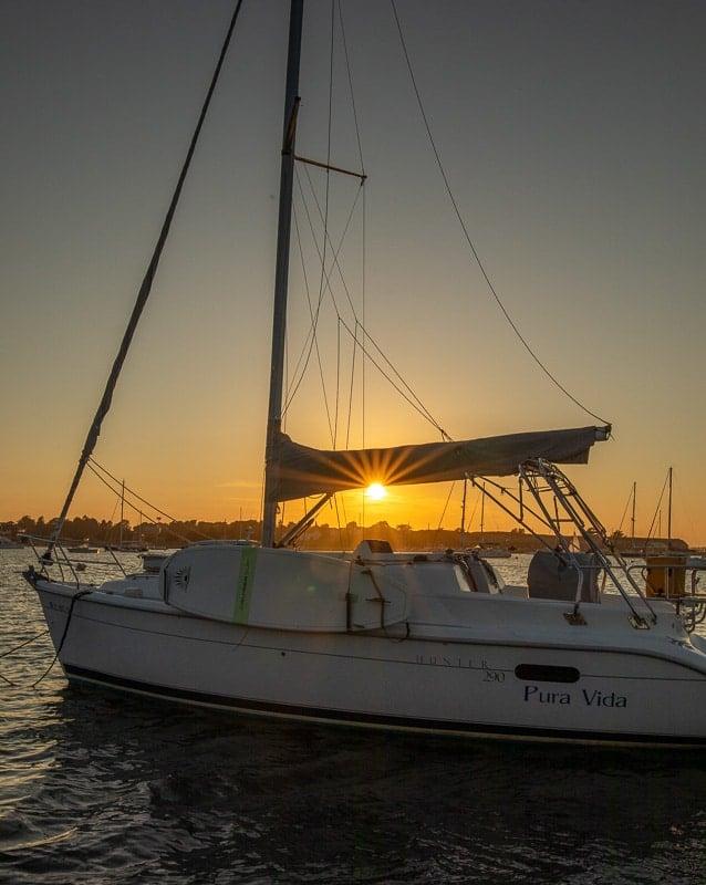 Golden Hour in Newport Harbor is magical.