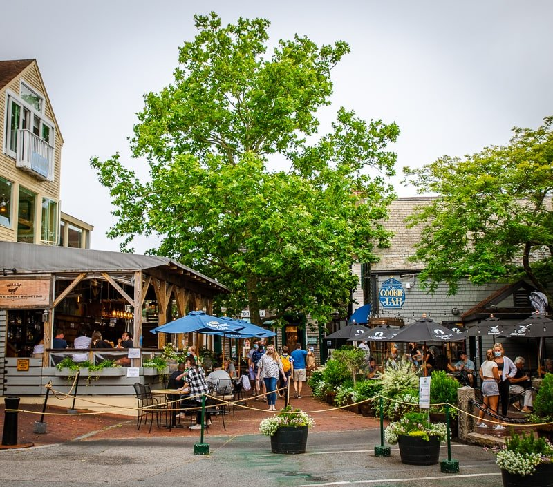 Bowen's Wharf in Newport is a great place to visit while in Newport, Rhode Island.