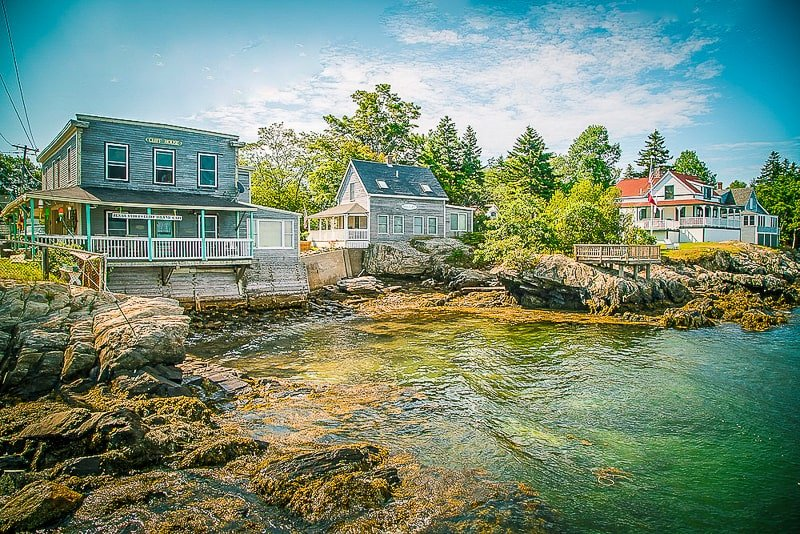 Cliff Island in Maine is one of New England's best hidden gems.