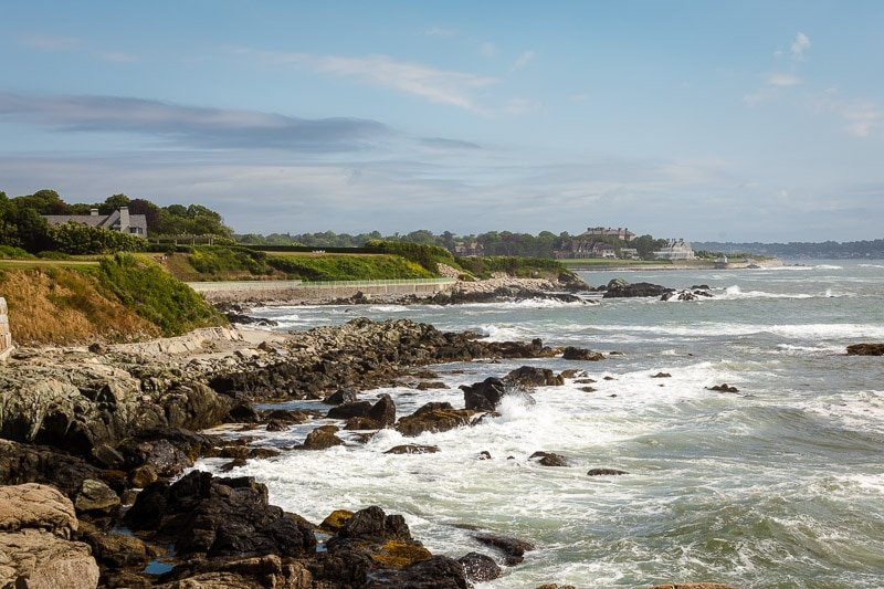 The Cliff Walk in Newport is a must-see during a weekend in Newport, Rhode Island.