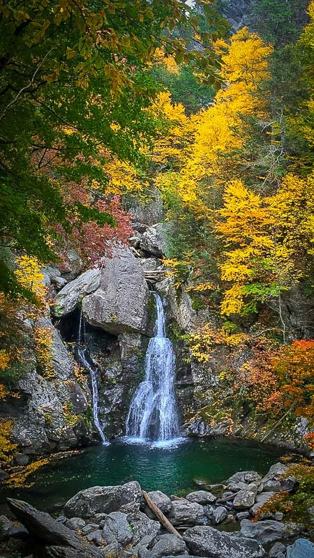 Bash Bish Falls State Park is an off the beaten path destination.
