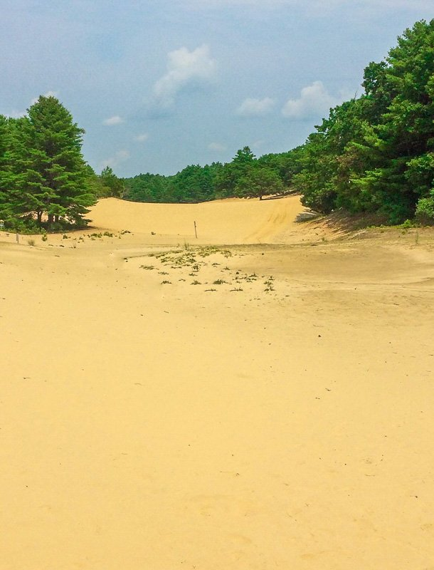 Desert of Maine is one of the best hidden gems in Maine and New England.