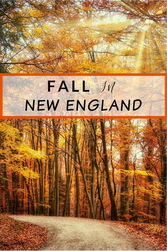 Fall in New England pinterest image