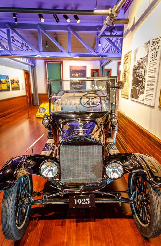Sold between 1908-1927, The Model T was the first car that much of the public could actually afford.