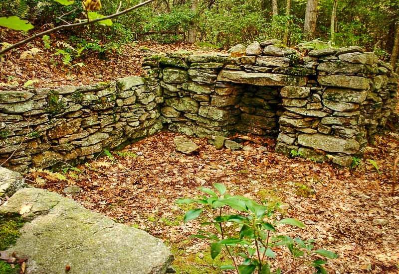 Gungywamp in Groton, Connecticut is a hidden gem in New England.