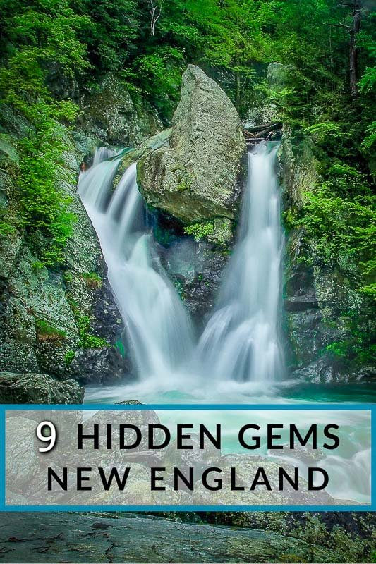 Hidden gems in New England Pinterest Image
