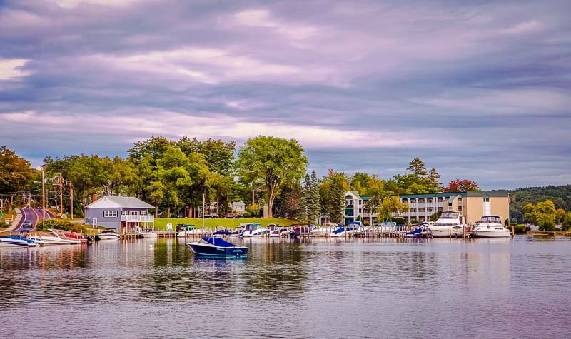 Lake Winnipesaukee in New Hampshire