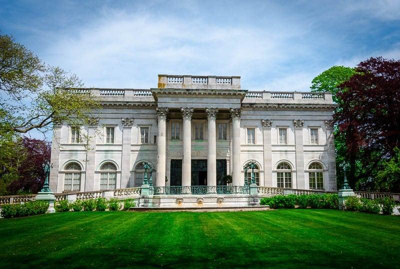 Marble House on Bellevue Avenue in Newport, Rhode Island.
