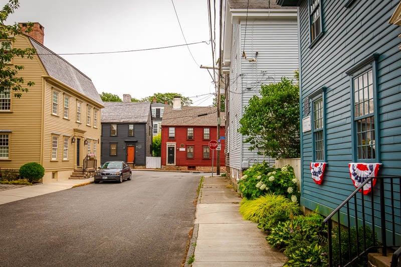 The Point neighborhood feels like a hidden gem in Newport.