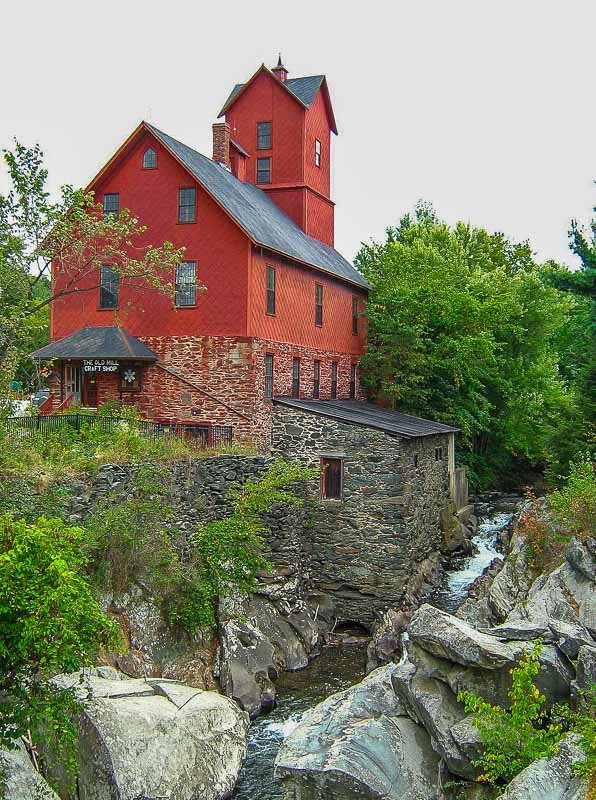 The Old Red Mill in Jericho, Vermont, is one of New England's best hidden gems.