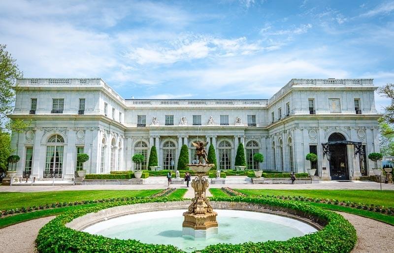 Rosecliff Mansion in Newport, Rhode Island