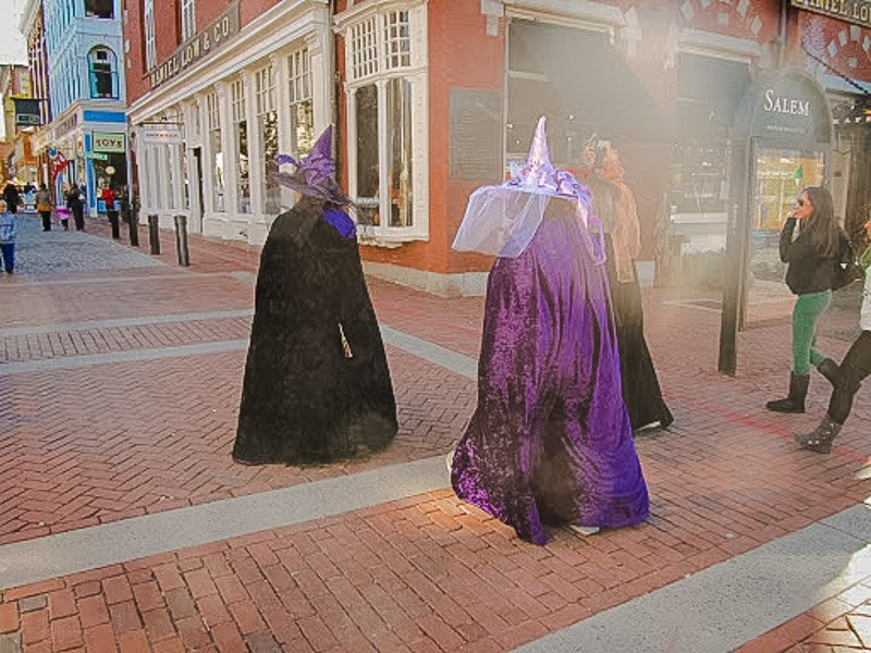 Haunted Happenings in Salem, MA.