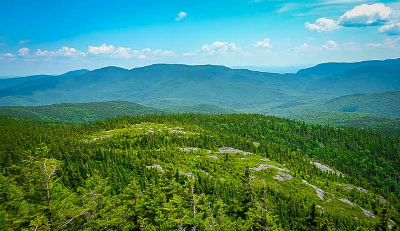 Shelburne Moriah Mountain is a great to get off the beaten path.