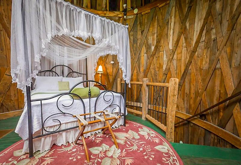 This silo studio is one of the best Airbnbs in the Berkshires.