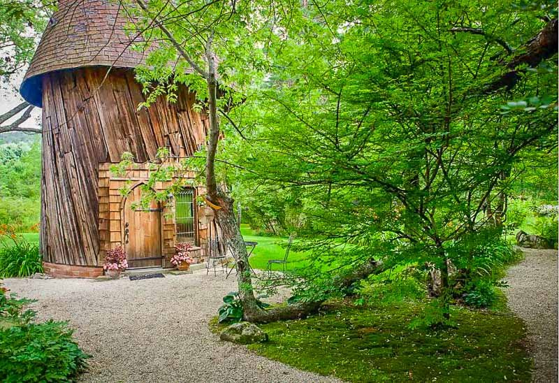 Silo Studio Cottage is among the coolest Airbnbs in the Berkshires.