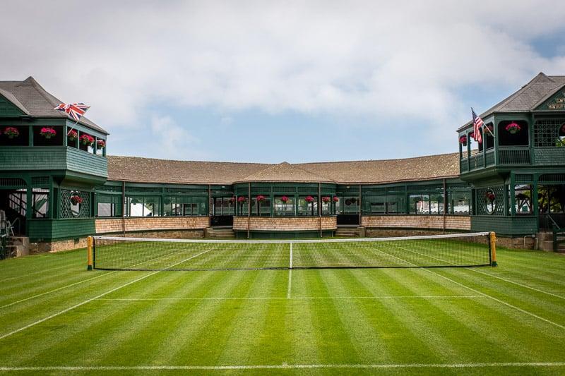 The International Tennis Hall of Fame in Newport, Rhode Island.