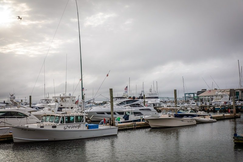 Bowen's Wharf is among the best things to see and do during a weekend in Newport, Rhode Island.