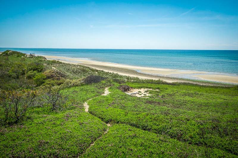 Bound Brook Beach is a seemingly unknown place to visit on Cape Cod.